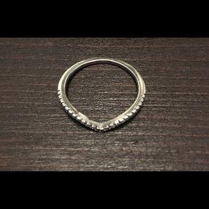 Pandora Cz stackable ring size 9